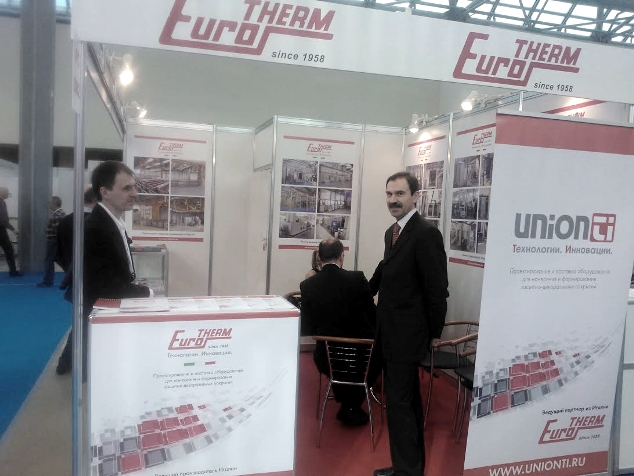 Eurotherm's stand at Interlakokraska-2014